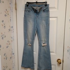 Levi Strauss Boot cut Distressed Jean pant